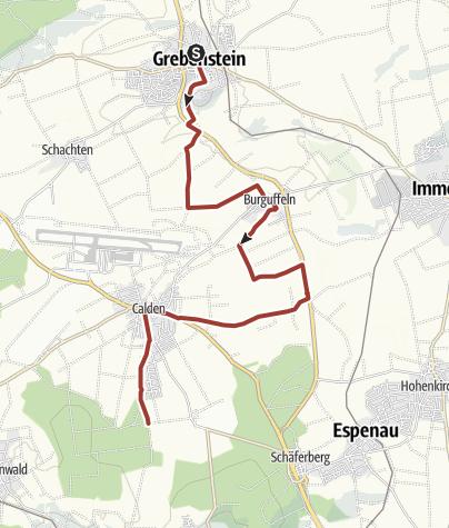 Karte / Märchenlandweg-Etappe23