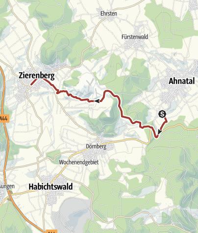 Karte / Märchenlandweg-Etappe28