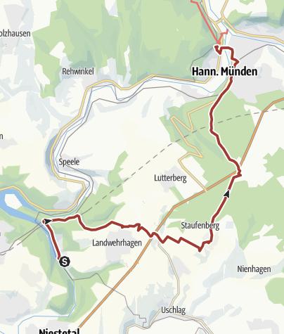 Karte / Märchenlandweg-Etappe31