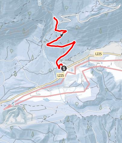Karte / Familientaugliche Rodelpartie - Hinterhornalm