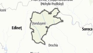 Kartta / Raionul Dondușeni
