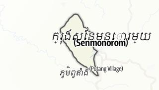 Mapa / Monourom