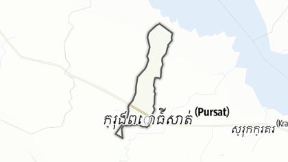 Carte / Snam Preah