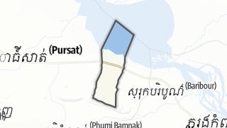 Mapa / Kbal Trach