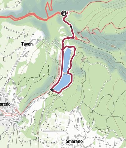 Cartina / San Romedio - Laghi di Coredo