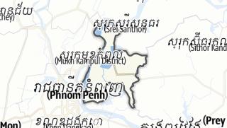 Карта / Khsach Kandal