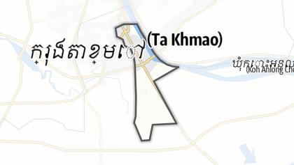 Mapa / Ta Khmao