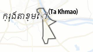 Térkép / Ta Khmao