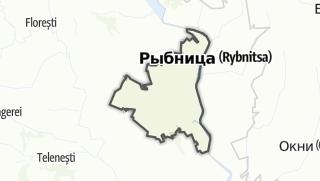 Kartta / Raionul Rezina