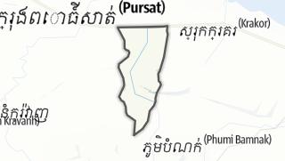 Hartă / Tnaot Chum