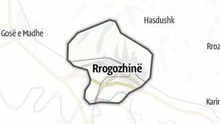 Carte / Rrogozhine