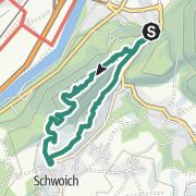 Karte / Wöhrer Köpfl 782m Überschreitung