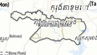 Карта / Kandal Stueng