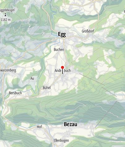 Karte / Andelsbuch, Katholische Pfarrkirche Heilige Petrus und Heiliger Paulus