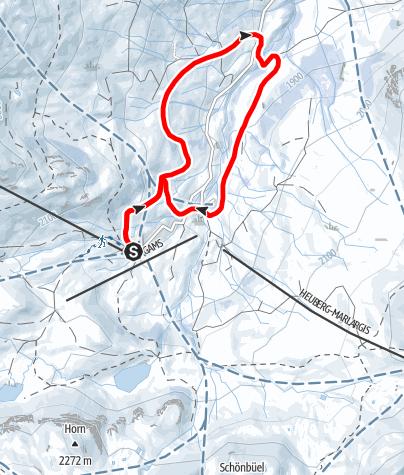 Map / Glattwang-Runde in den Fideriser Heubergen