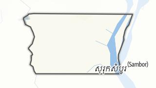 Térkép / Kampong Cham