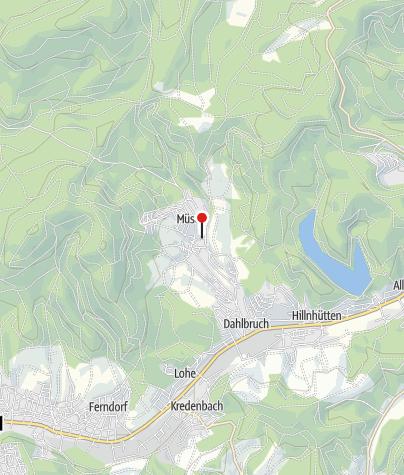 Karte / Stahlbergmuseum Müsen