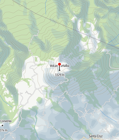 Karte / Nationalpark Turrialba