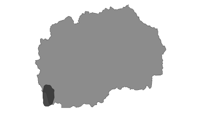 Mappa / Lake Ohrid