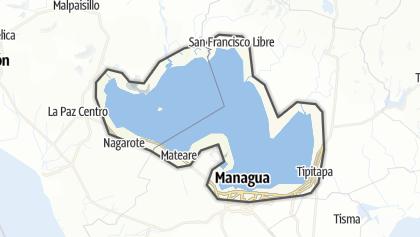 Carte / Lake Managua