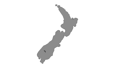 Mapa / Lake Wakatipu