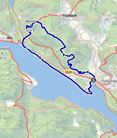 Map / Schluchseer Jägersteig (Hunter's Climb)
