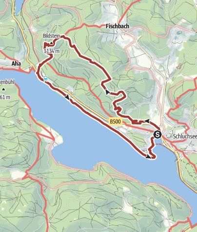Karte Schwarzwald Zum Ausdrucken.Genießerpfad Schluchseer Jägersteig Wanderung Outdooractive Com