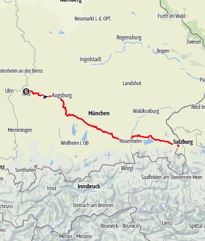 Karte / Via Julia