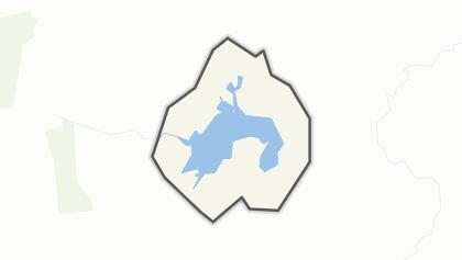 Mapa / Lake Onslow