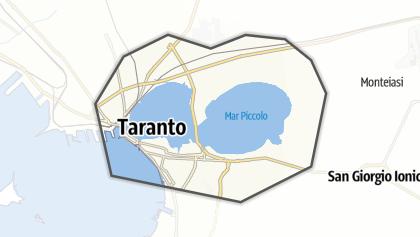 Térkép / Mar Piccolo