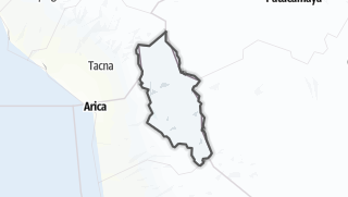 Mapa / Parinacota