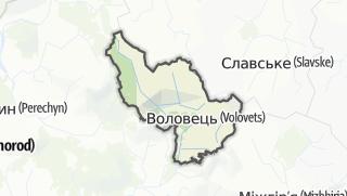 Mapa / Воловецький район