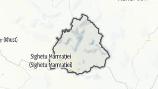 Mapa / Рахівський район