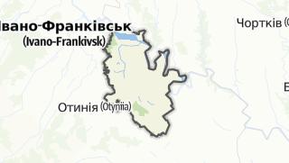 Mapa / Тлумацький район