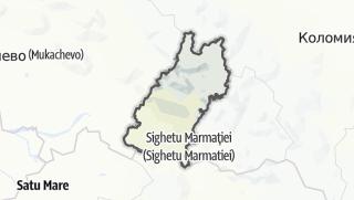 Mapa / Тячівський район