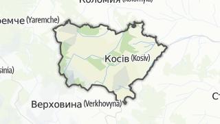 Mapa / Косівський район