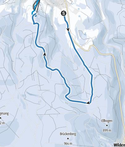 Map / Loipe Eibenstock