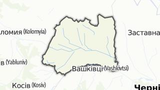Mapa / Снятинський район