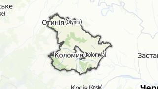 Mapa / Коломийський район