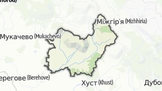 Mapa / Іршавський район
