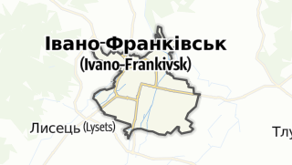 Mapa / Івано-Франківська міська рада