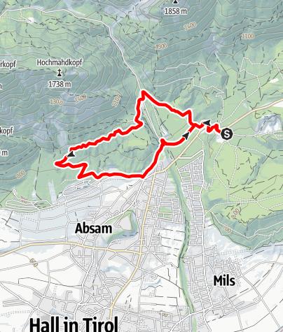 Karte / Runstbodenrunde