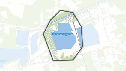 Hartă / Kwartszandgroeve