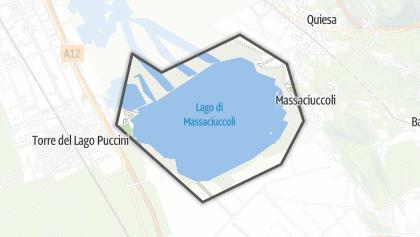 地图 / Lago di Massaciuccoli