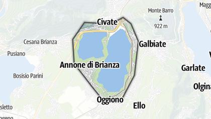 Mapa / Lago di Annone