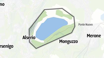 Mapa / Lago di Alserio