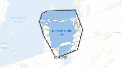 Mapa / Breukeleveensche of Stille Plas