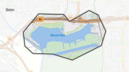 Mapa / Nieuwe Meer