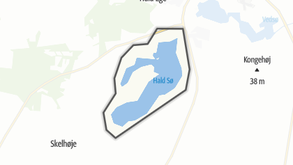 Mapa / Hald Sø