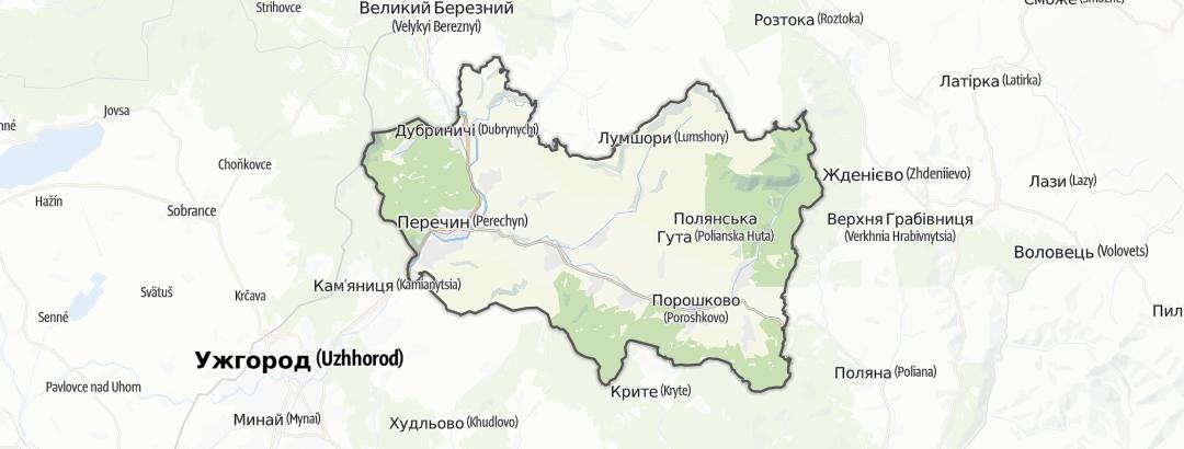 Карта / Перечинський район